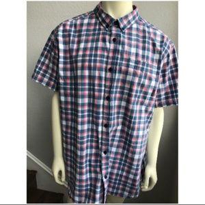 Columbia Sportswear Company Plaid Mens Shirt XXL